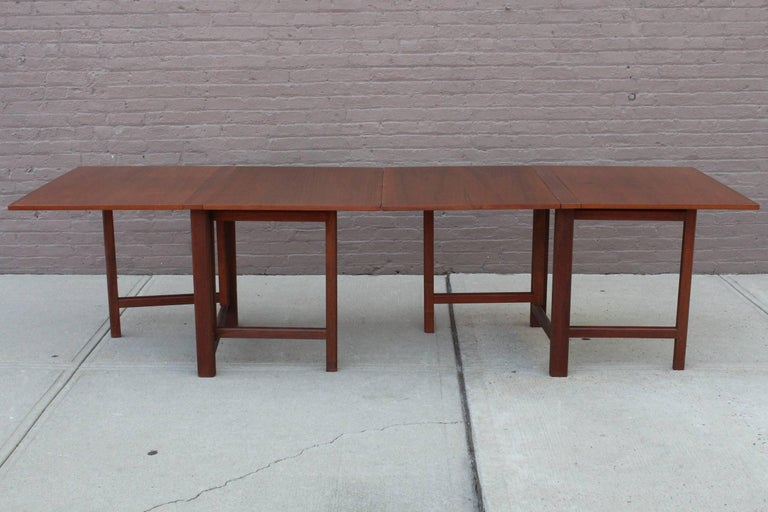 Bruno Mathsson Maria Gateleg Extending Dining Table For  : 1master from www.1stdibs.com size 768 x 512 jpeg 62kB