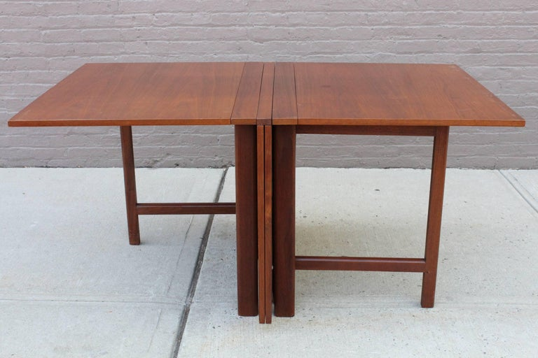 Bruno Mathsson Maria Gateleg Extending Dining Table For  : 2master from www.1stdibs.com size 768 x 512 jpeg 61kB