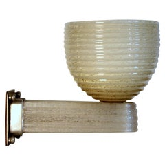 Single VENINI Sconce design Tommaso Buzzi 1923 ca,