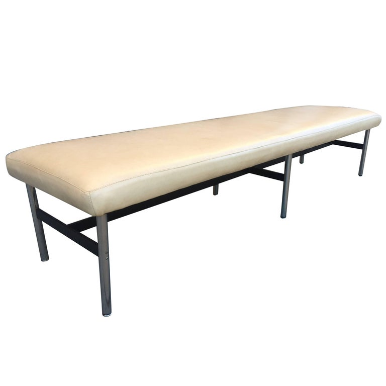 New York City Long Bench by Laverne International For Sale