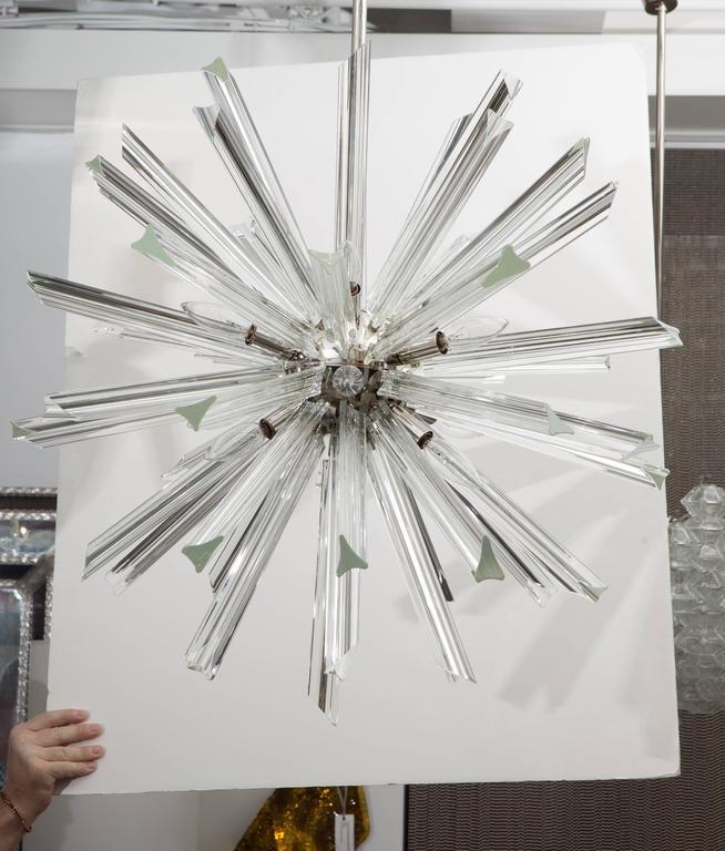 Crystal Sputnik Chandelier by Venini for Camer 3