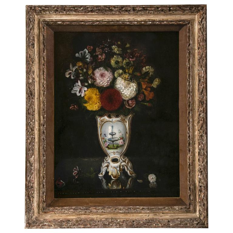 Pair of 19th Century Continental Still Life Paintings