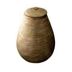 Burkina Faso Vase, Africa, circa 1930s