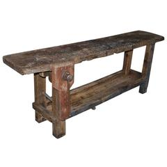 20th Century, French, Carpenters Workbench