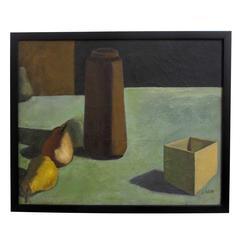 Still Life Painting by David Ladin, American Mid 20th Century