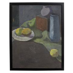 Still Life Painting by David Ladin, American Mid 20th Century