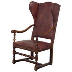 Wingback Chair Baroque Northern Europe