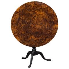 Tilt Top Table Alder Root, 19th Century, Sweden
