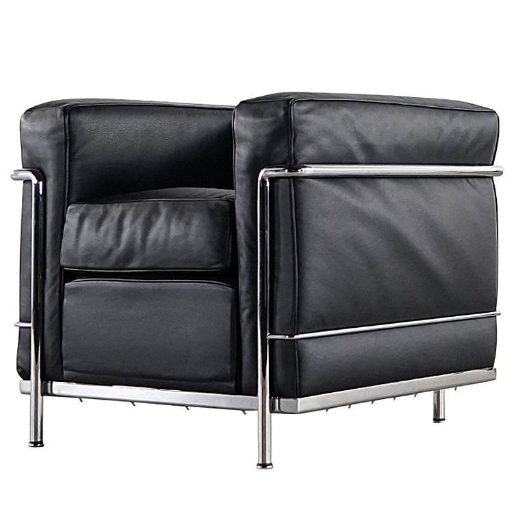 le corbusier pierre jeanneret charlotte perriand lc2. Black Bedroom Furniture Sets. Home Design Ideas