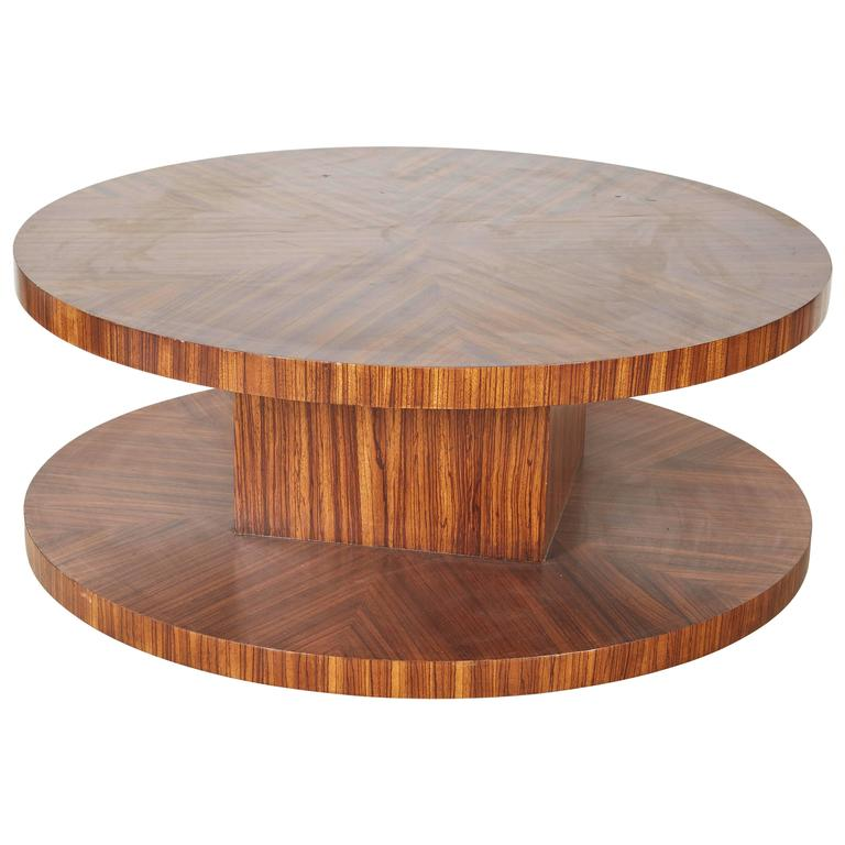 Rotating Modernist Coffee Table For Sale At 1stdibs