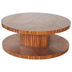 Rotating Modernist Coffee Table