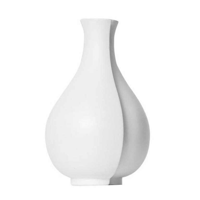 Wilhelm Kage Ceramic Vase Model Surrea by Gustavsberg in Sweden