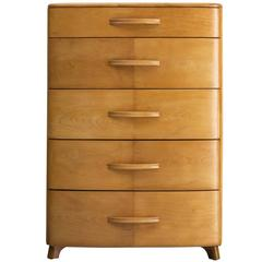 Five-Drawer Commode in Blond Maple