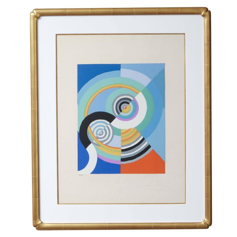 'Rythme 3' after Robert Delaunay