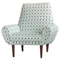 Danish Mid-Century Lounge Chair in the Style of Kurt Ostervig and Geo Thams