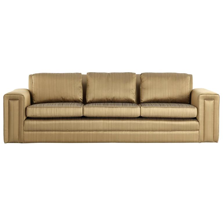 Paul Frankl Sofa ~ Paul frankl custom sofa pair available s for sale at