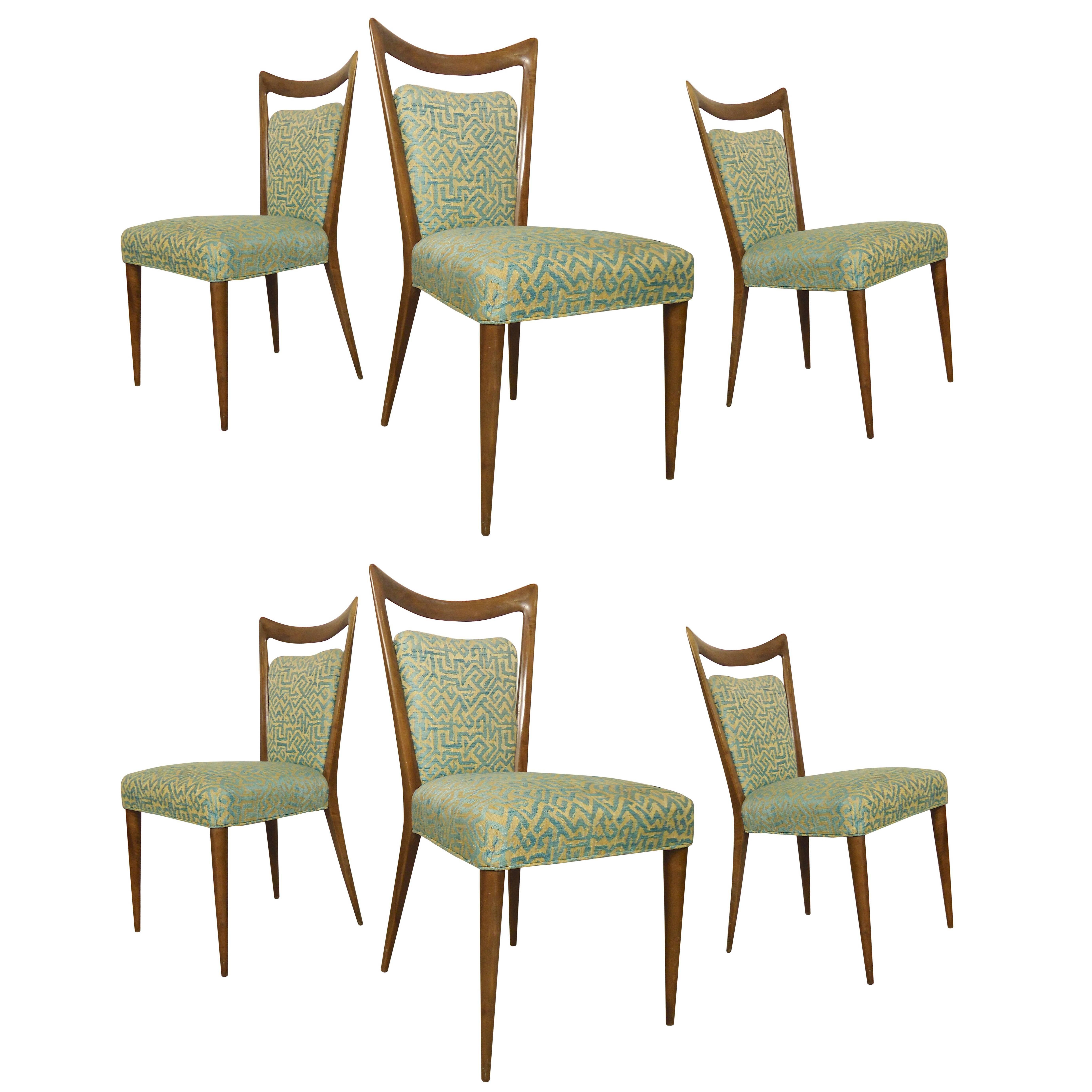 Melchiorre Bega Designed Mid-Century Chairs