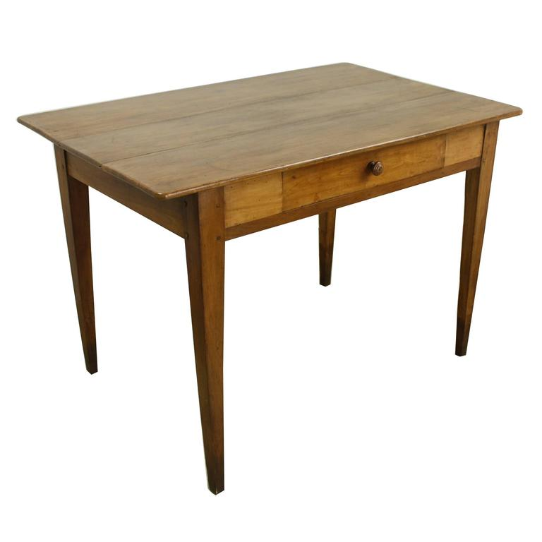 Mellow Cherry Antique Writing Table Or Desk For Sale At