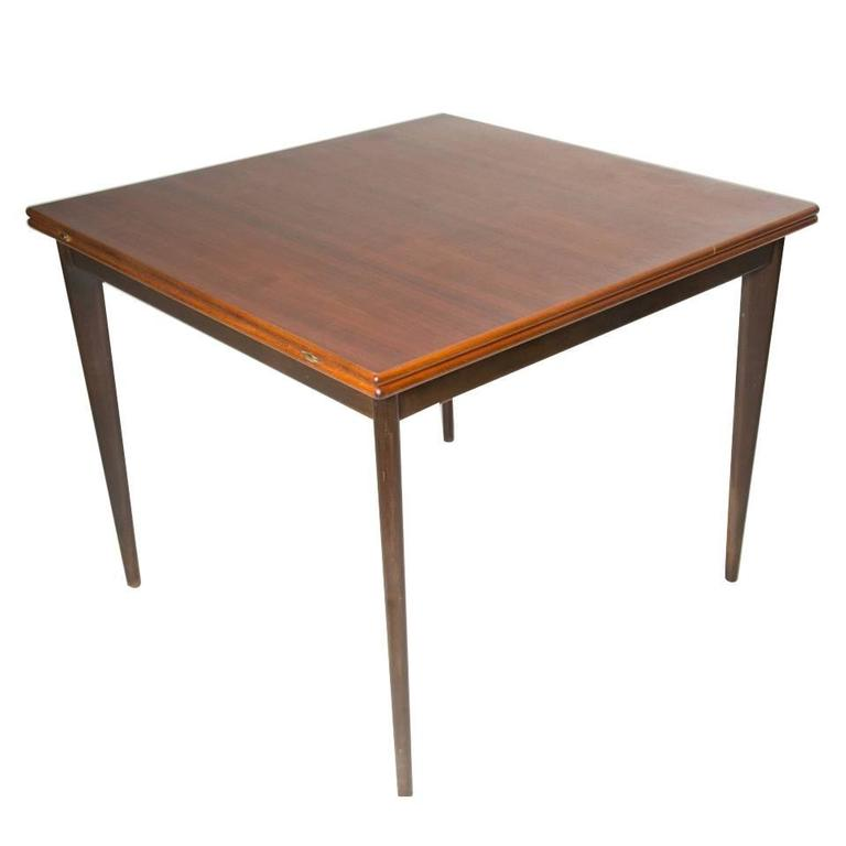 Nils Jonsson Rosewood Flip Top Extension Table At 1stdibs