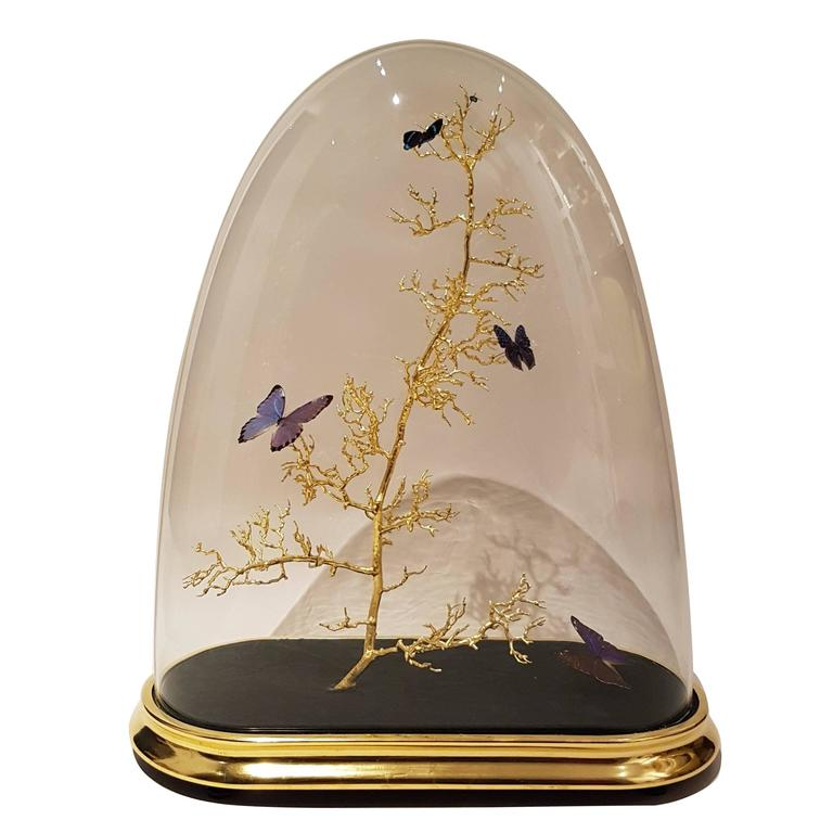 Oval Butterfly Dome For Sale