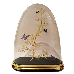 Oval Butterfly Dome
