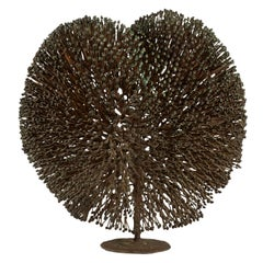 Harry Bertoia Patinated Bronze Bush Sculpture, circa 1970