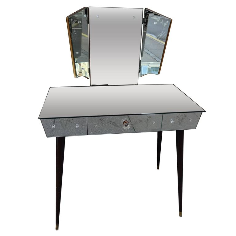 french mirrored vanity table at 1stdibs