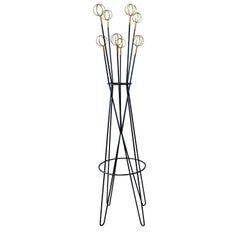 A French 1950s Coat Rack Stands by Roger Feraud for Geo