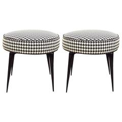 Pair of Coco Stiletto Ottomans