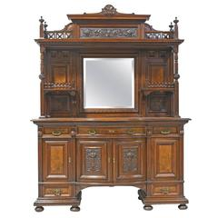 New York City Belle Époque Bar Cabinet from the American Golden Age, circa 1890