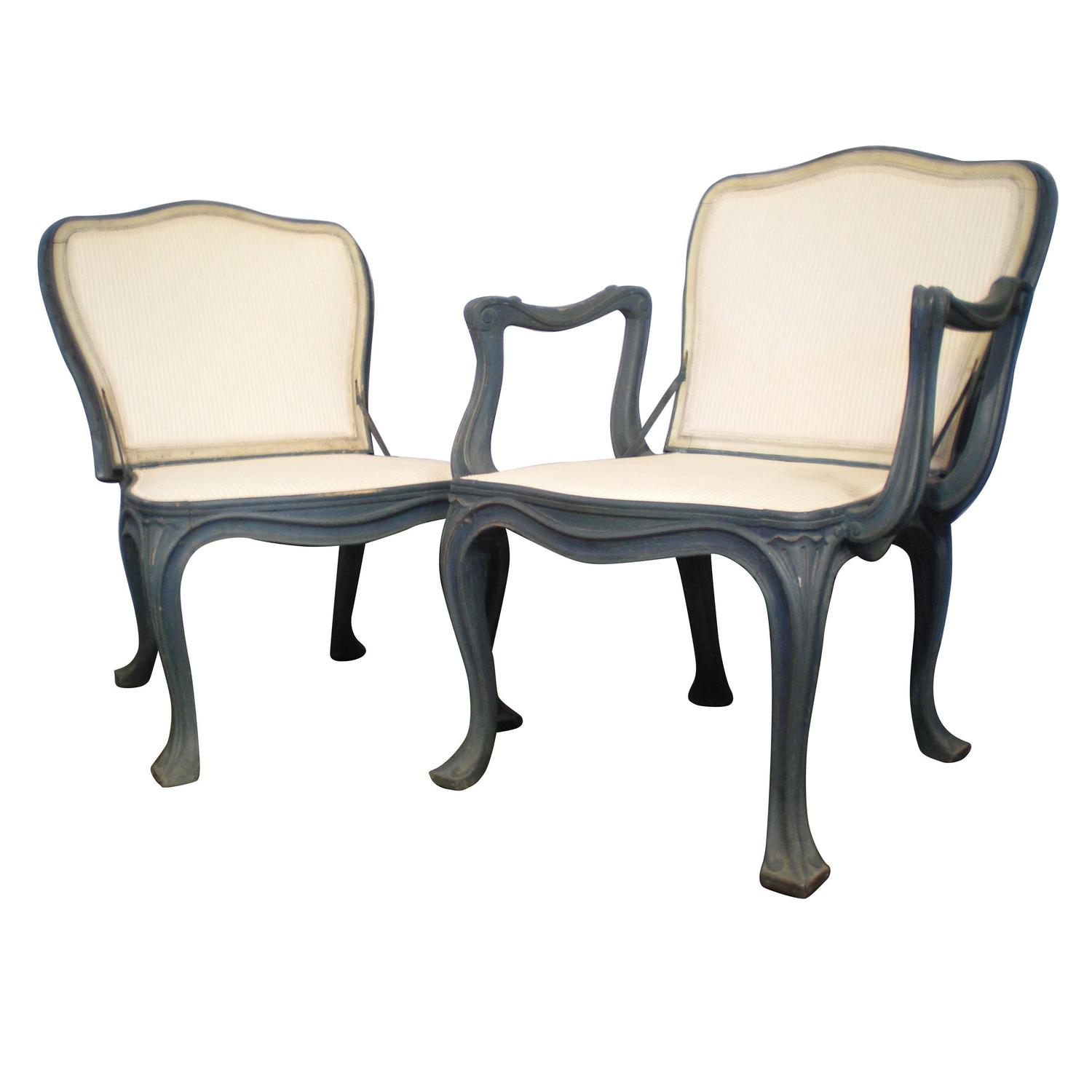 French Garden Chairs For Sale at 1stdibs