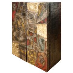 Paul Evans Wall Hanging Cabinet PE-39 1968 (Signed)