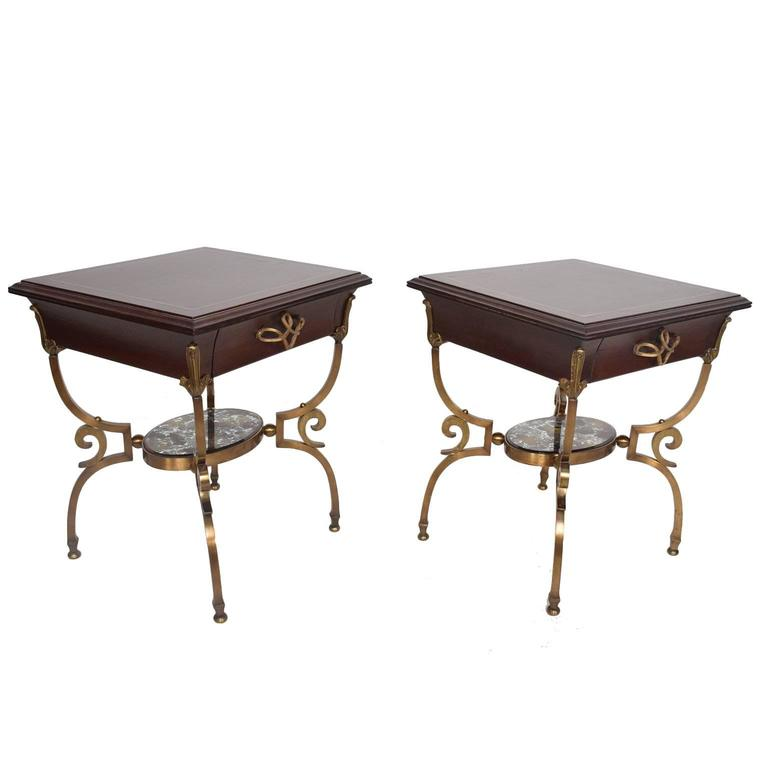 Side tables attributed to Arturo Pani, 1950s, offered by Ambianic