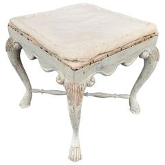 Period Swedish Gustavian Stool
