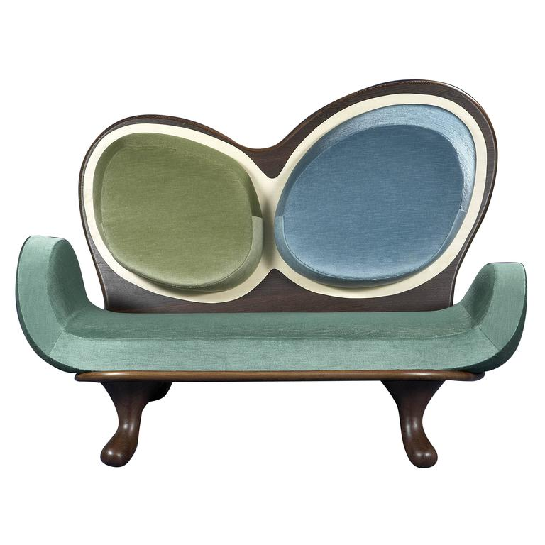 Surf Sofa by Mattia Bonetti Cat-Berro Gallery Paris.  In stock