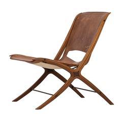 Peter Hvidt & Orla Mølgaard-Nielsen Easy Chair Model FH-6135/X-Chair