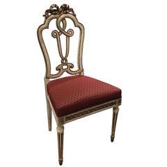 Beautiful Set of Ten 18th Century Italian Venetian Side Chairs