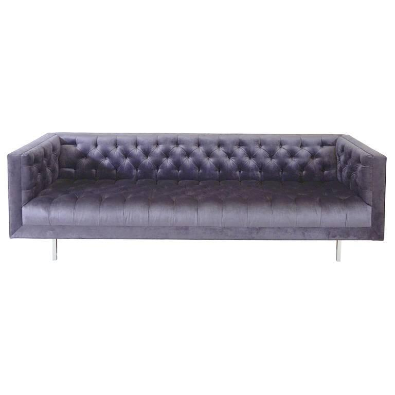 Exceptionnel Ludlow Custom Tufted Sofa For Sale