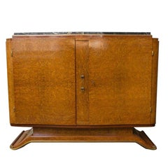Small French Art Deco Style Sideboard