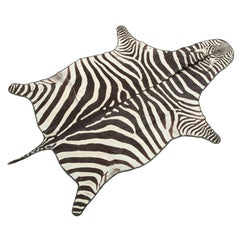 20th Century Zebra Rug