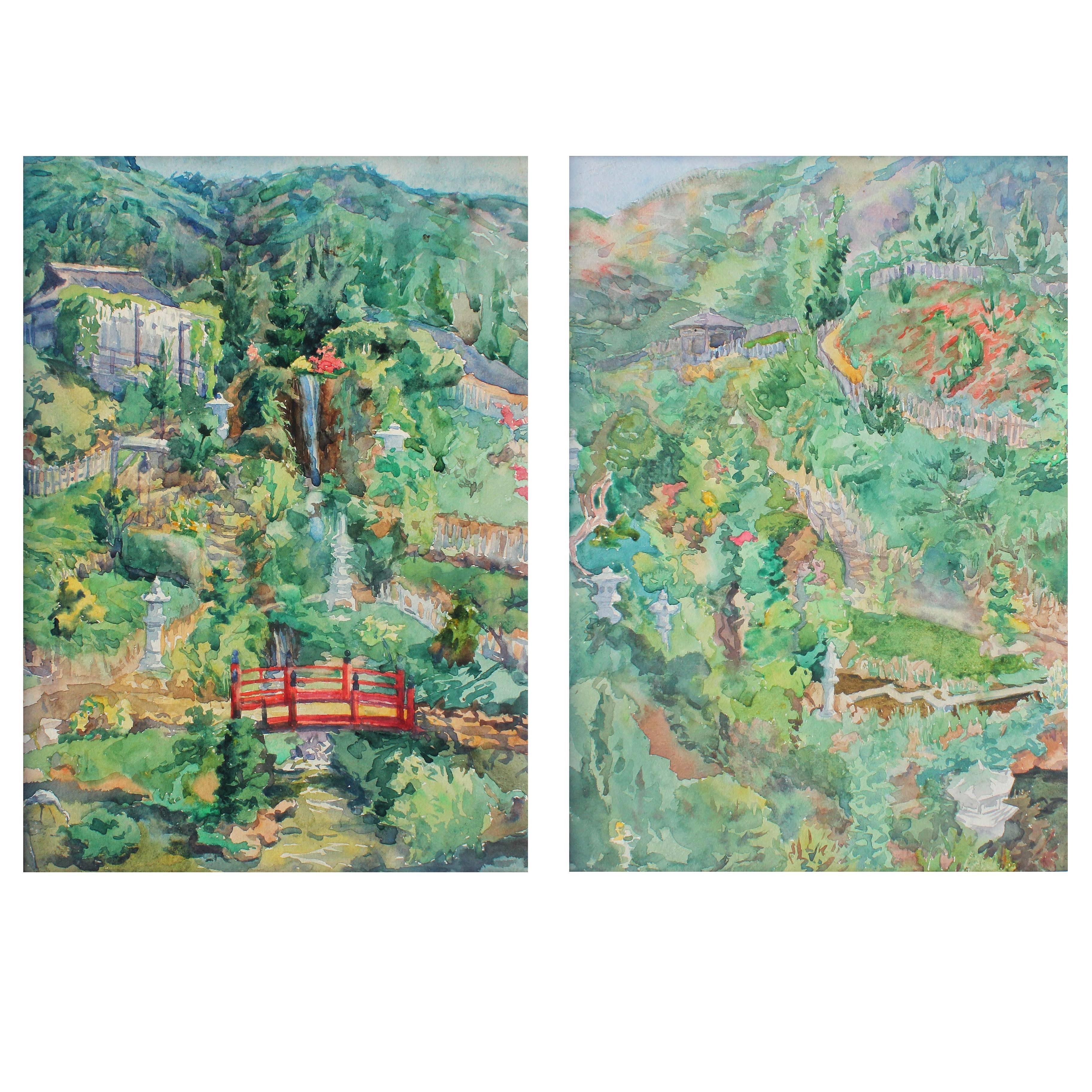Pair of Paintings, California