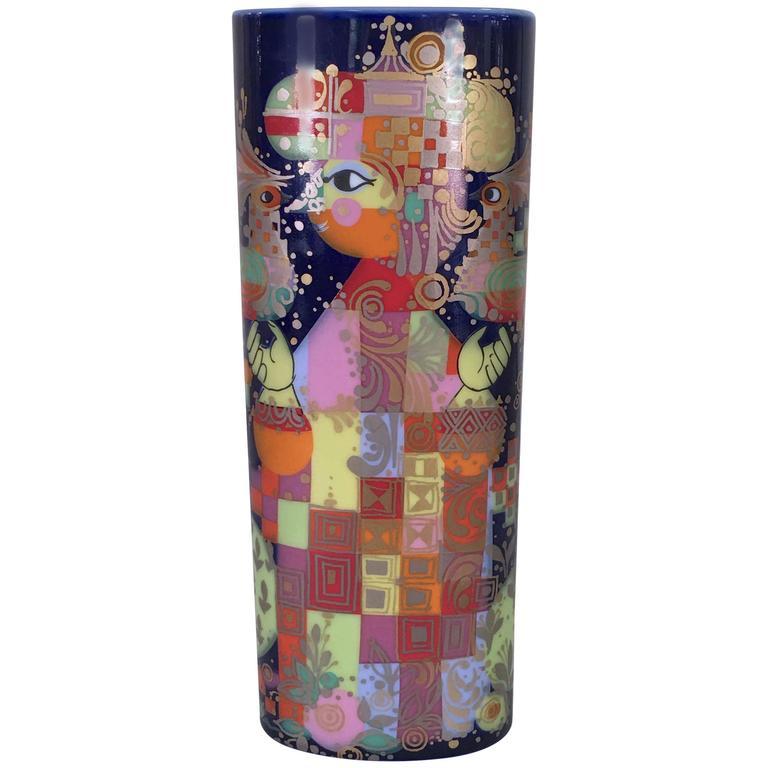 Vase by Bjorn Wiinblad for Rosenthal, 1001 Nights Series