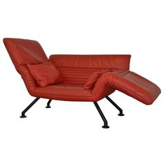 Vintage De Sede Sofa or Chaise Longue by Winfried Totzek, 1988