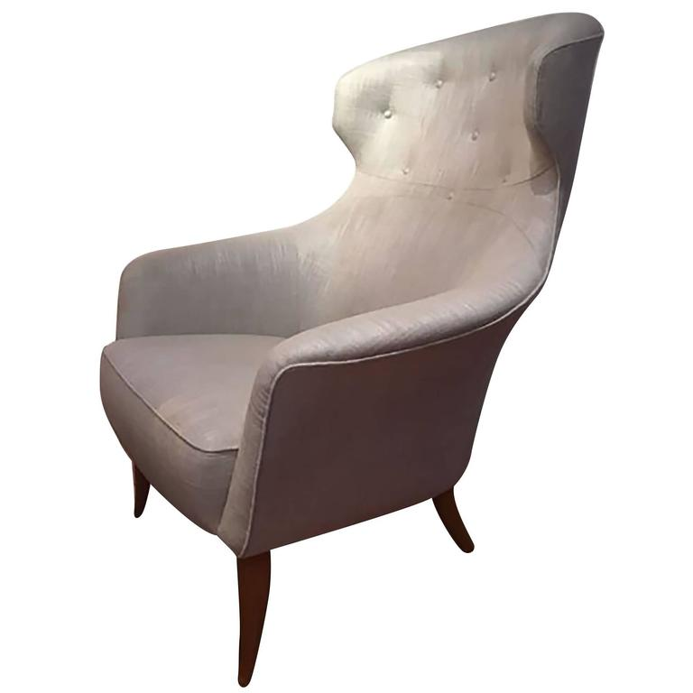 High back Lounge Chair by Kerstin Hörlin-Holmquist, ca. 1955