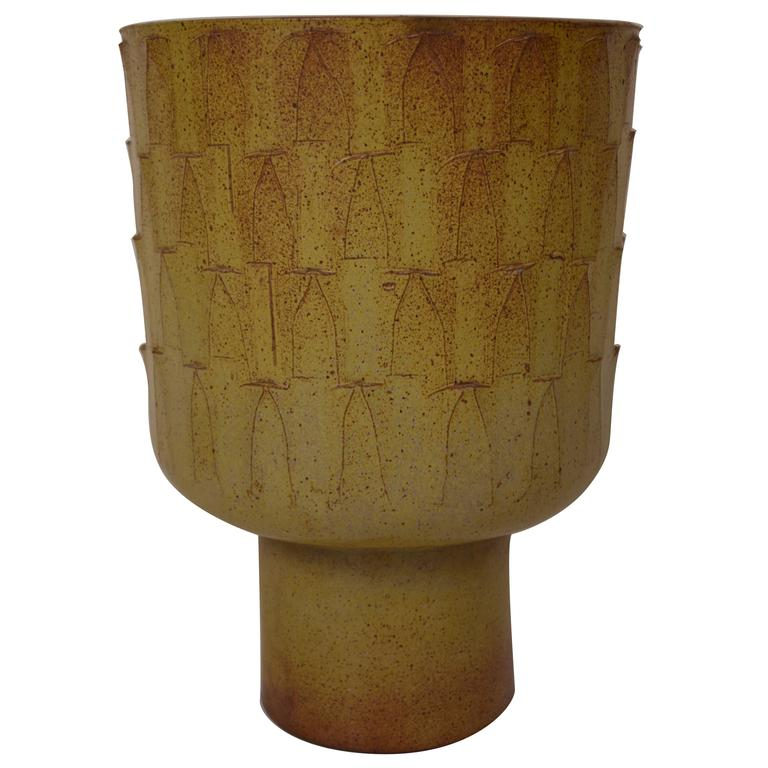 Large David Cressey Chalice Planter from Pro Artisan Collection