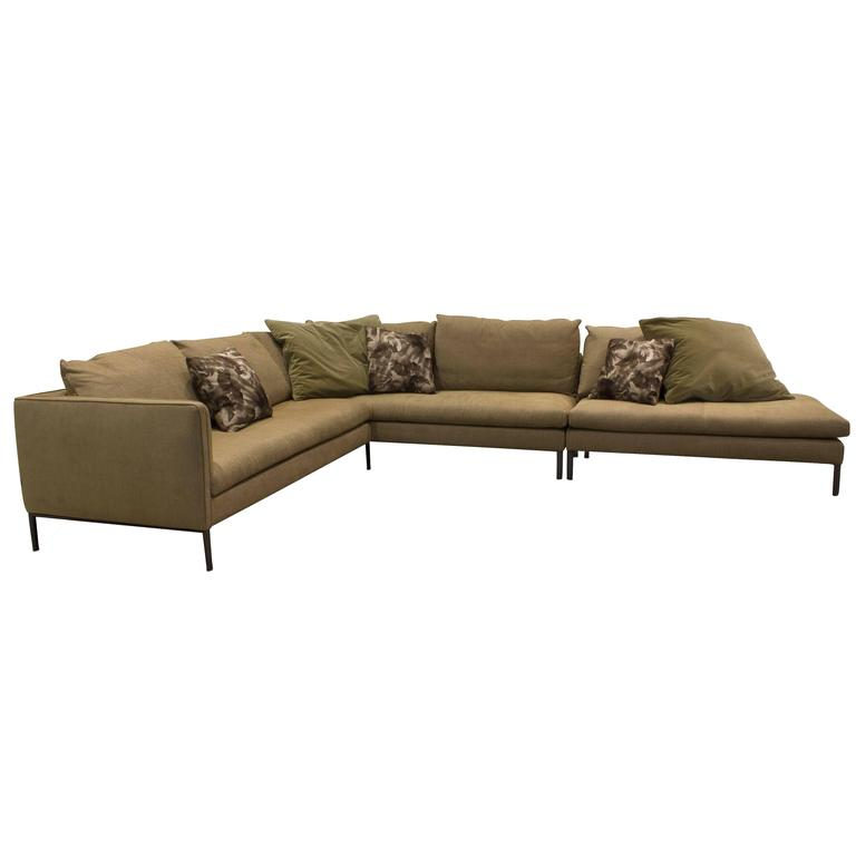 Paul Sectional Sofa Couch With Cushions By Vincent Van
