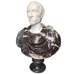 Marble Bust of Caesar