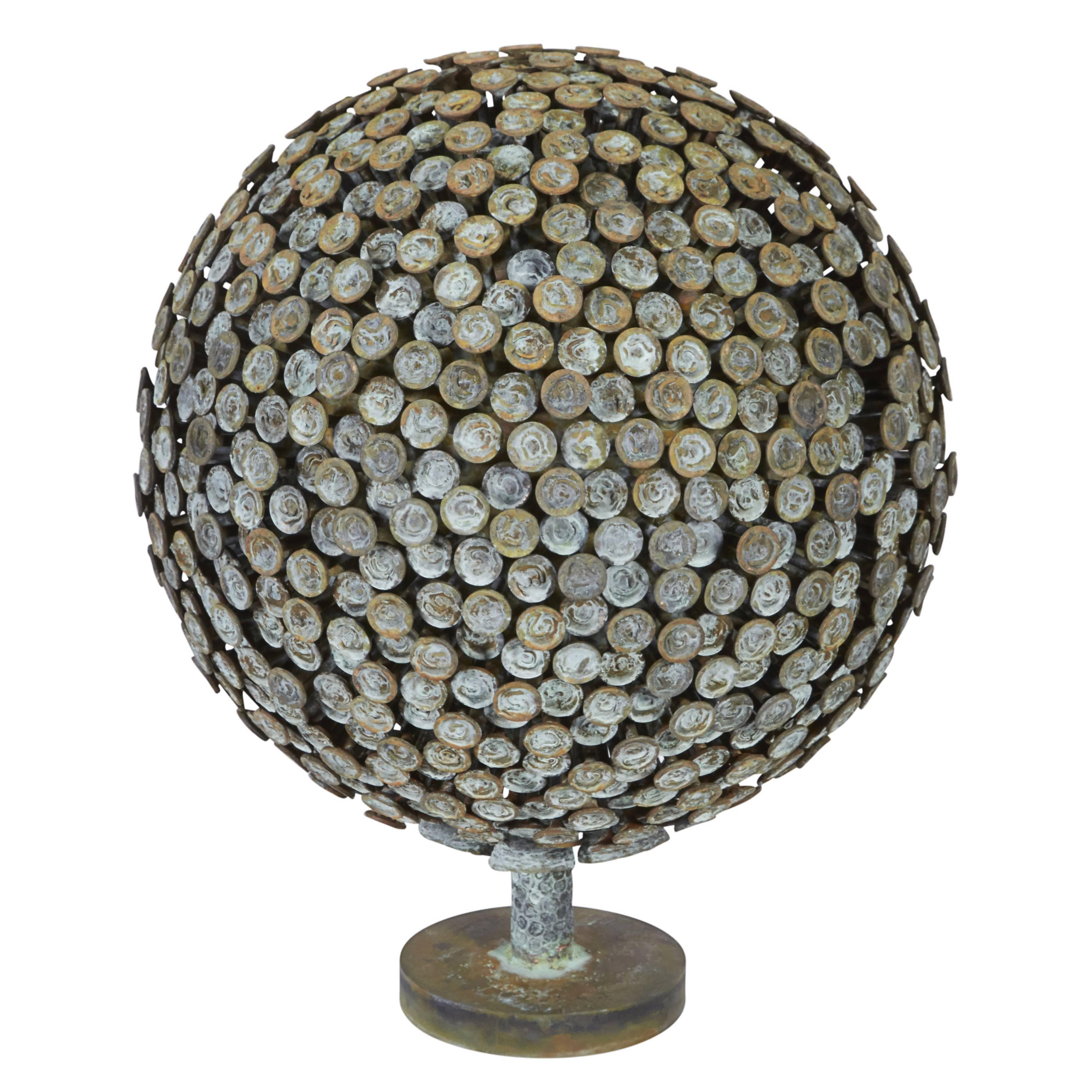 "Bronze & Copper Sculpture ""Autumn Bloom"" by Douglas Ihlenfeld, USA 2016"