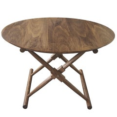 Matthiessen Round Dining Table in Oiled Walnut