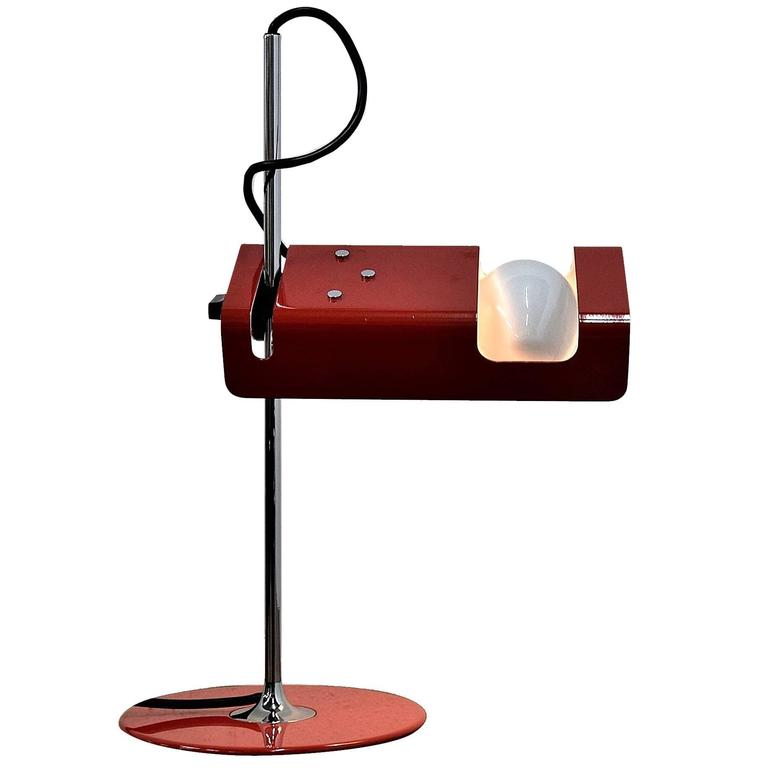 o luce spider lamp by joe colombo for sale at 1stdibs
